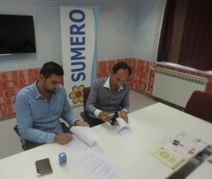 Potpisivanje sporazuma o saradnji.